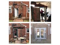 Building and joinery services fencing decking windows doors extensions 1st and 2nd fix