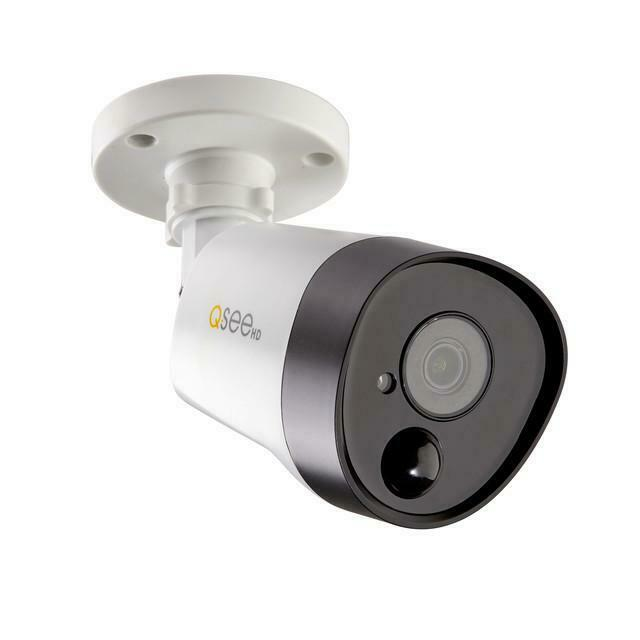 Q-See 5MP ANALOG HD BULLET SECURITY CAMERA W/ PIR TECHNOLOGY