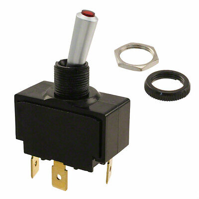 Carling Tech Lt-1511-610-012 Toggle Switch Spst 20a 12v Lighted Waterproof