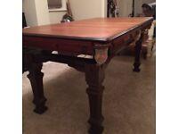 Original 6ft E. J Riley Antique Snooker Dining Table