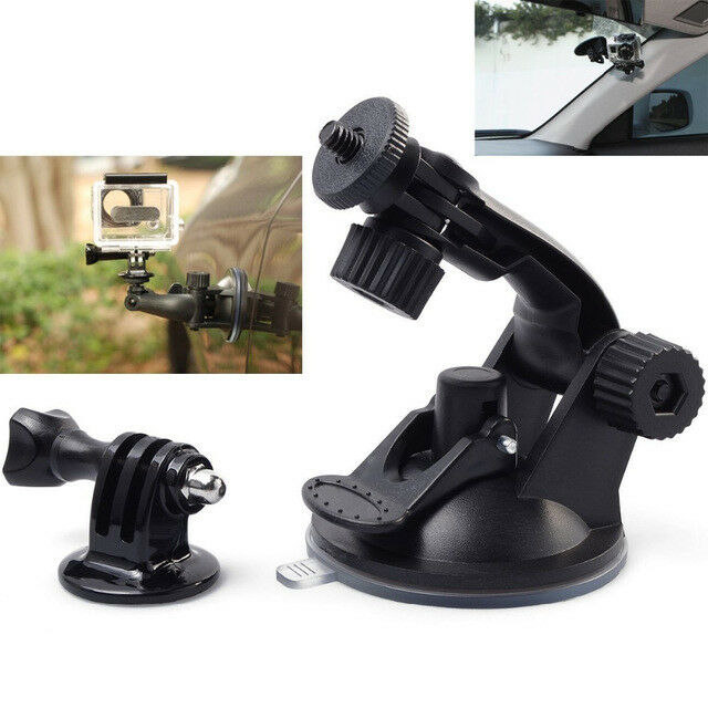 Action Camera Car Window Windshield Glass Suction Cup Mount for GoPro 4 3 2 1