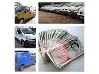 We buy all Vauxhall Vivaro, Nissan Primastar, Renault Trafic vans for cash running or broken