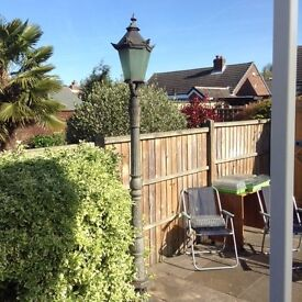 8ft Tall Victorian Lamp post