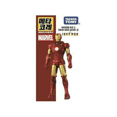 Takara Tomy Metacolle Iron Man Mark 3 Avengers Marvel Figure Toy Diecast