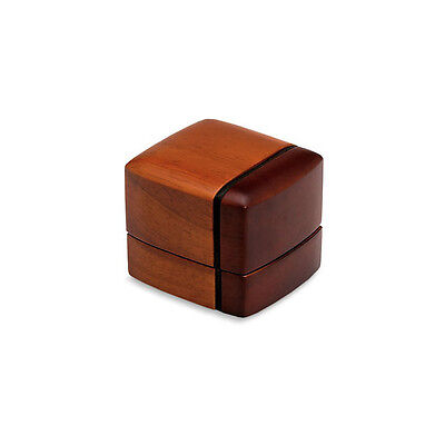 Regal Wood The Ring Box Engagement Ring Box Weeding Gift Box B9