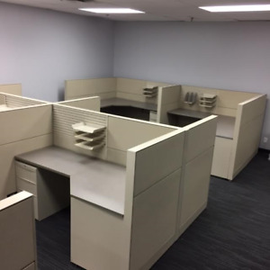 USED CUBICLES, LIKE NEW, CALL CENTRES, CUBICLE OFFICES