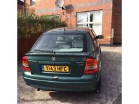 PRIVATE 2001 VAUXHALL ASTRA 1,6 PETROL MOT TILL MAY 2017(£395 ONLY)