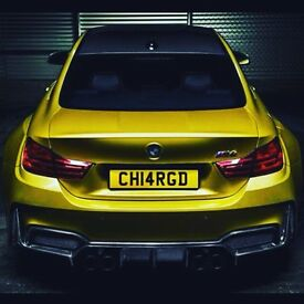 Private number plate Personal number plate Charged Supercharged RangeRover X5 Q7 ML x3 Land Rover ST