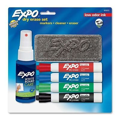 New Expo Low Odor Dry-erase Set - San80653 Low Odor Ink