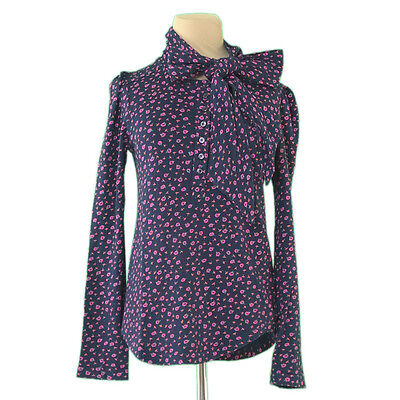 Marc By Marc Jacobs Tops Blouses Black Pink Woman Authentic Used L2300