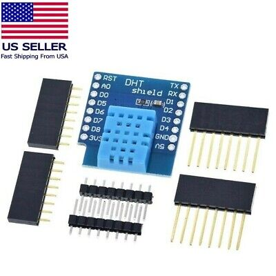 Dht11 Temperature And Humidity Shield Wemos D1 Mini Esp8266 Arduino Nodemcu Iot
