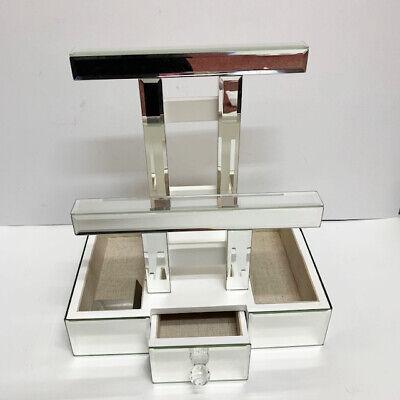Mirrored Bracelet Bars Tray Open Box Jewelry Holder Retail Store Display