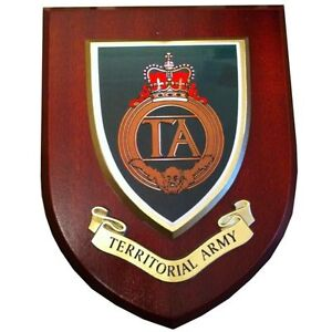 TA Territorial Army Wall Plaque UK Hand Made for MOD Military