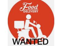 Part-time food delivery drivers needed in London (East/South)