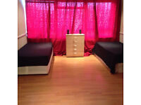 A Bright super large double bedroom is available for rent in IG3, Goodmayes.