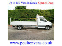 "2014 (64) MERCEDES SPRINTER 313CDI 13'8"" LWB DROPSIDE PICK UP 2.2CDI,NOT TIPPER"