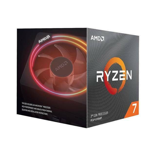 AMD 100-100000071BOX Ryzen 7 3700X Desktop Processors/ Eight Core/ 3.6GHz/ PCIe