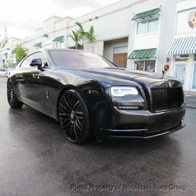 2014 Rolls-Royce Wraith 2dr Coupe: FULLY LOADED. TV CELEBRITY OWNED . MANY 2016 YEAR MODEL UPGRADES . MUST SEE