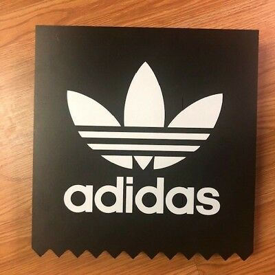 Adidas Sign Pop Plastic Display 23 X 23 Free Shipping