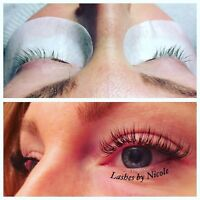 Lash extension tech looking for work