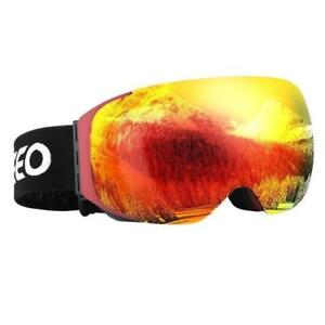 Daily Deal Enkeeo Ski Goggles Dual Layer UV400 Anti-Fog Lens ( We pay shipping !)