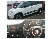 Fiat 500L 1.6 Trekking Manuel in white and black for SALE