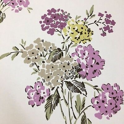 Ashley Wilde Kew Heather 100% Cotton Floral Fabric, Price per 1/2 meter ()