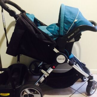 STEELCRAFT AGILE PLUS Travel System Stroller + Capsule Arundel Gold Coast City Preview