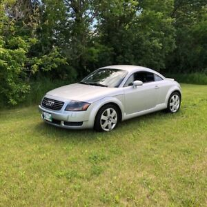 2000 Audi TT Quattro Coupe (2 door)