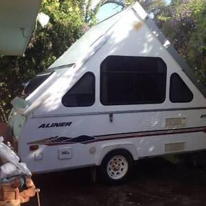 2004 Avan Aliner Pop-up Caravan Currimundi Caloundra Area Preview