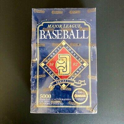 Donruss 1992 Edition Major League Baseball Collectors Set Sealed Box!