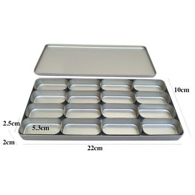 Dental Disinfection Trays Box Case 16 Slots For Burs Holder Sterilizer Cover