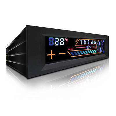 """NZXT SENTRY 2 5.25"""" Touch Screen Full System Fan Controller"""