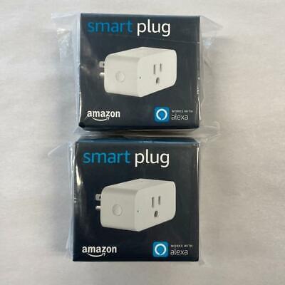 Amazon Smart Plugs x 2- works with Alexa 841667145075 - New