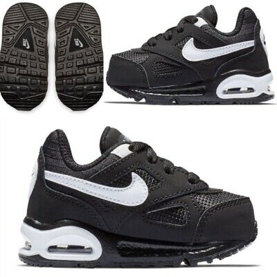 Infants Nike Air Max IVO Kids Boys Trainers Black White SIZE 11 12 13 RRP £49.99