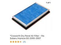Cosworth Dry Panel Air Filter - Newage Subaru Impreza Wrx & STi -