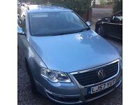 Well maintained, 3 owner Blue metallic VW Passat Estate