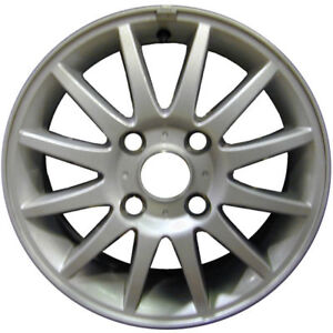 Aluminum rims 15 , with or without center caps.