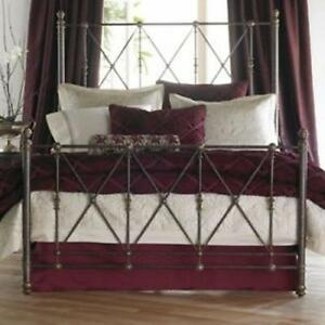 Bombay Wrought Iron Queen bed frame