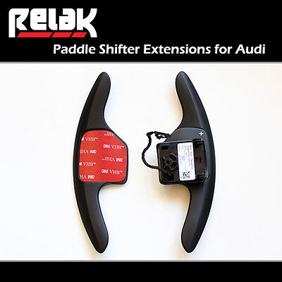 Shift Paddles for Audi A4 / S4 - DSG Steering Wheel Shifter Extensions