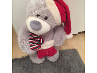 LARGE XMAS FURRY TOY IN AS NEW CONDITION