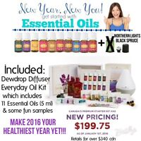 Make 2016 Your Healthiest Year Yet with Young Living!!!
