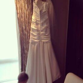 Allure wedding dress size 8.