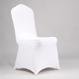 Recouvre chaise blanc pour Mariage