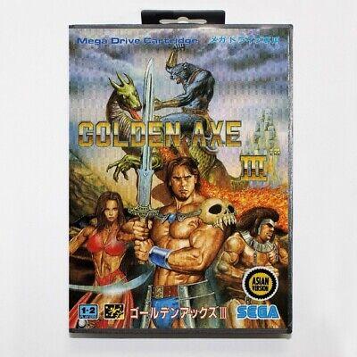 Golden Axe III Sega Mega Drive Game with Box