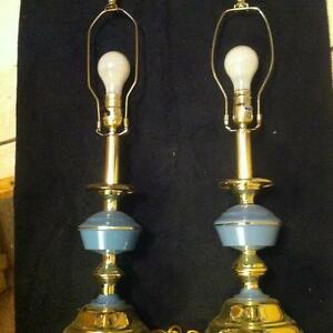 Two Tr-Lite Table Lamps.