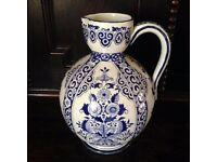 Antique jug by Gien