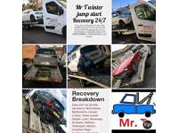 Amg Mr T amg car BREAKDOWN RECOVERY SERVICE 24/7 bedfordshire a505 a5 a41