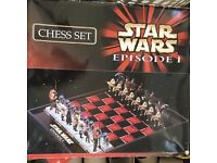 Star Wars Episode 1 Chess - Complete Set