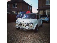 Mini Austin 1971 998cc great little car